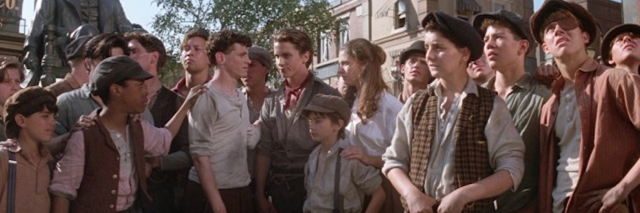 newsies film promo image