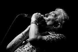 john mayall playing the harmonica image