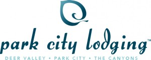 Park City Lodging Logo. Deer Valley, Park City & The Canyons