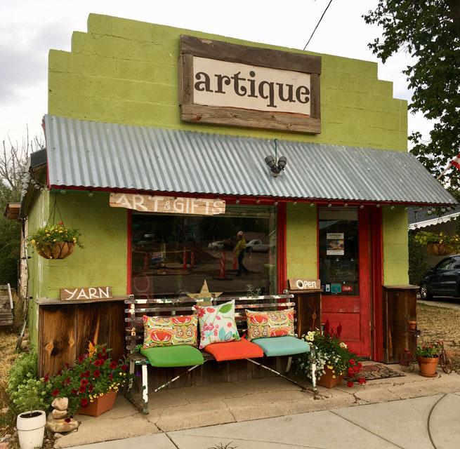 Artique Store front