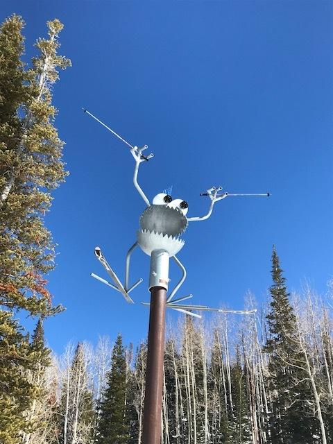 Steel Bug Art Sculpture