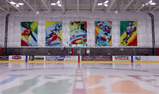Ice Arena Banners