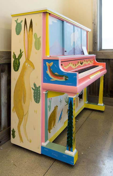 Art Pianos for All - Painted Piano