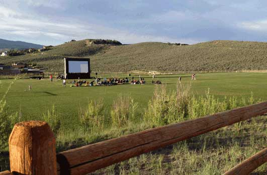 Movie Screening in the Park