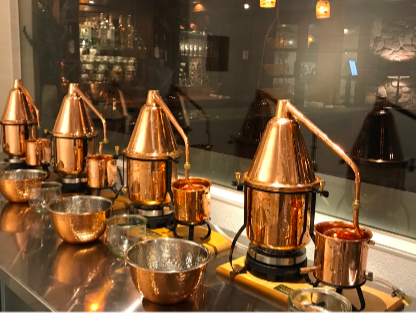 alpine distilling gin making experience