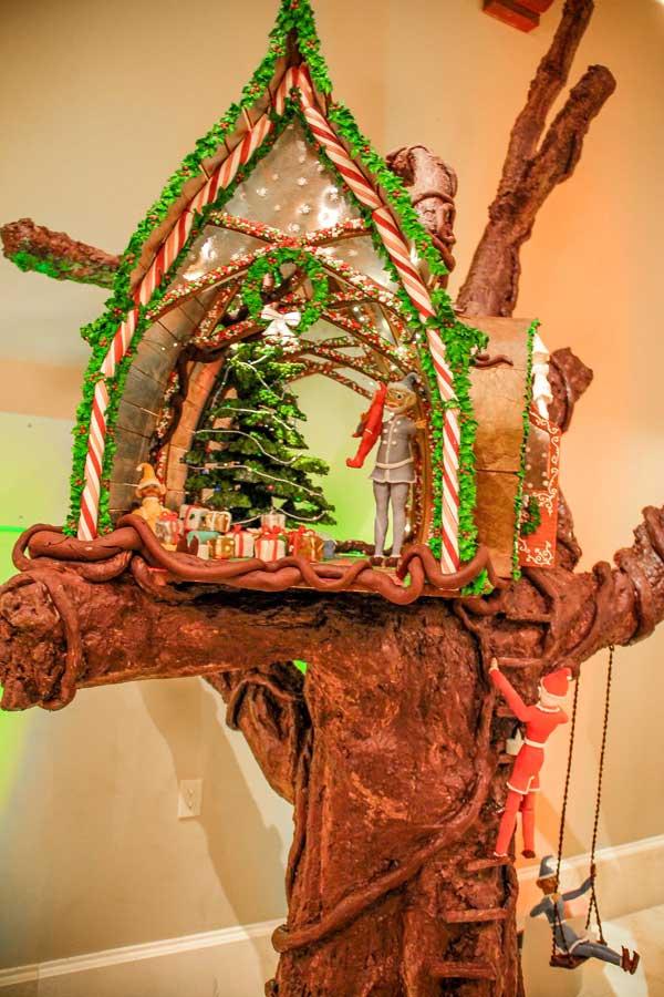 Gingerbread Tree House at Deer Valley