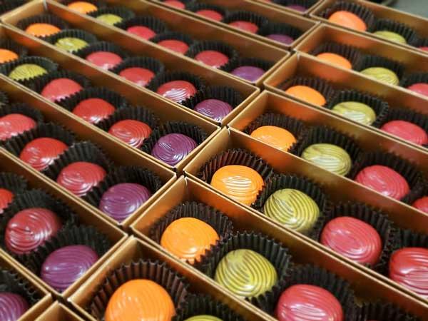 Tandem Chocolates wine chocos
