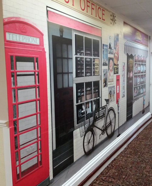 Durham County Council — Wall Wraps and Graphics for Dementia