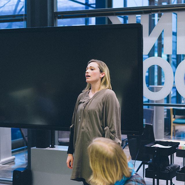 Tuulikki Laes, one of our speakers for #TEDxHelsinkiUniversity 2018 during our pitching event.