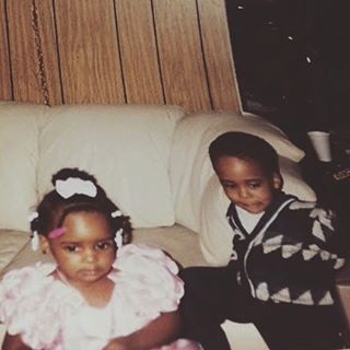 been best friends since church clothes n snowsuits. me n my bro @iamkxngleo #nationalsiblingday