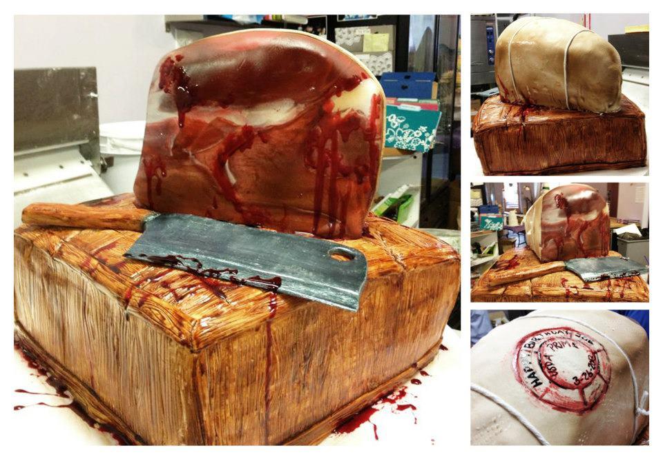 Butcher Cake