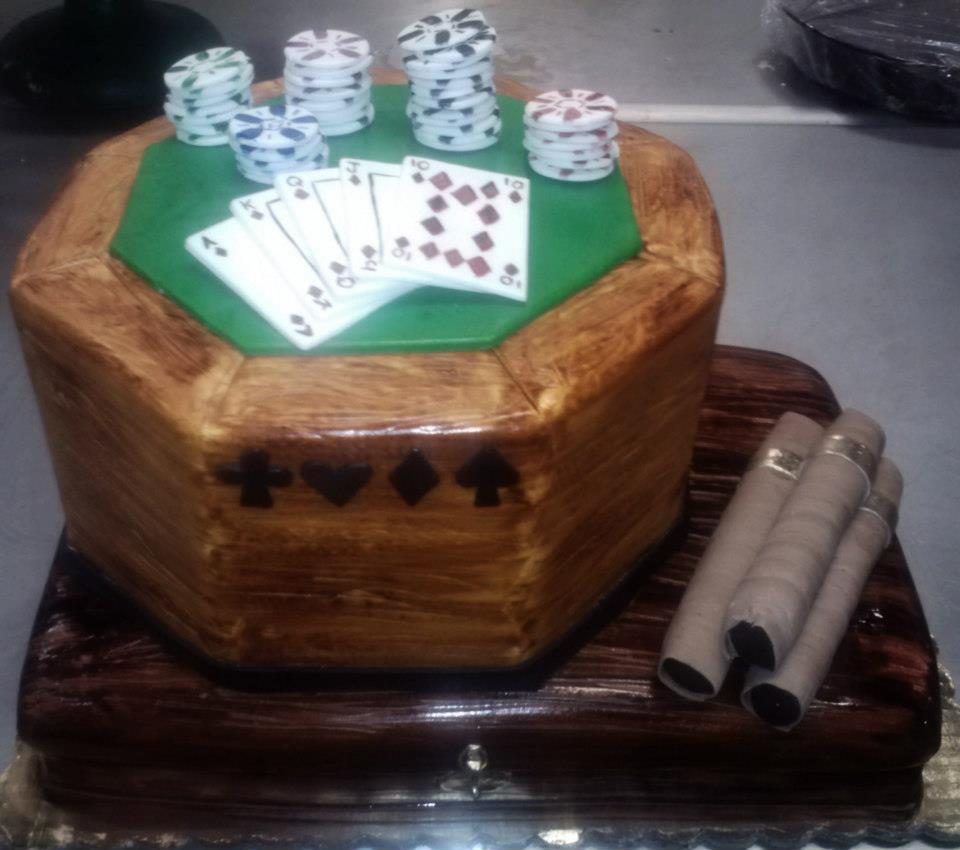 Poker Themed Cake