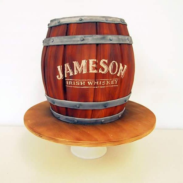 Jameson Barrel Cake