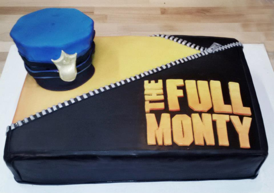 The Full Monty Themed Cake