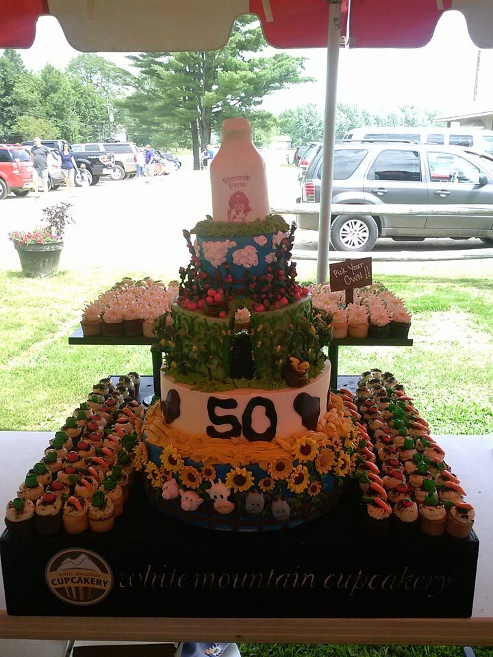 Sherman Farm Anniversary Cake