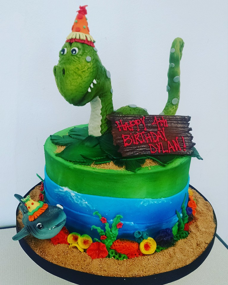 Dino Shark Cake