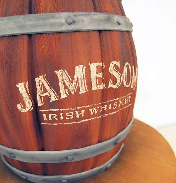 Handpainted Jameson Logo