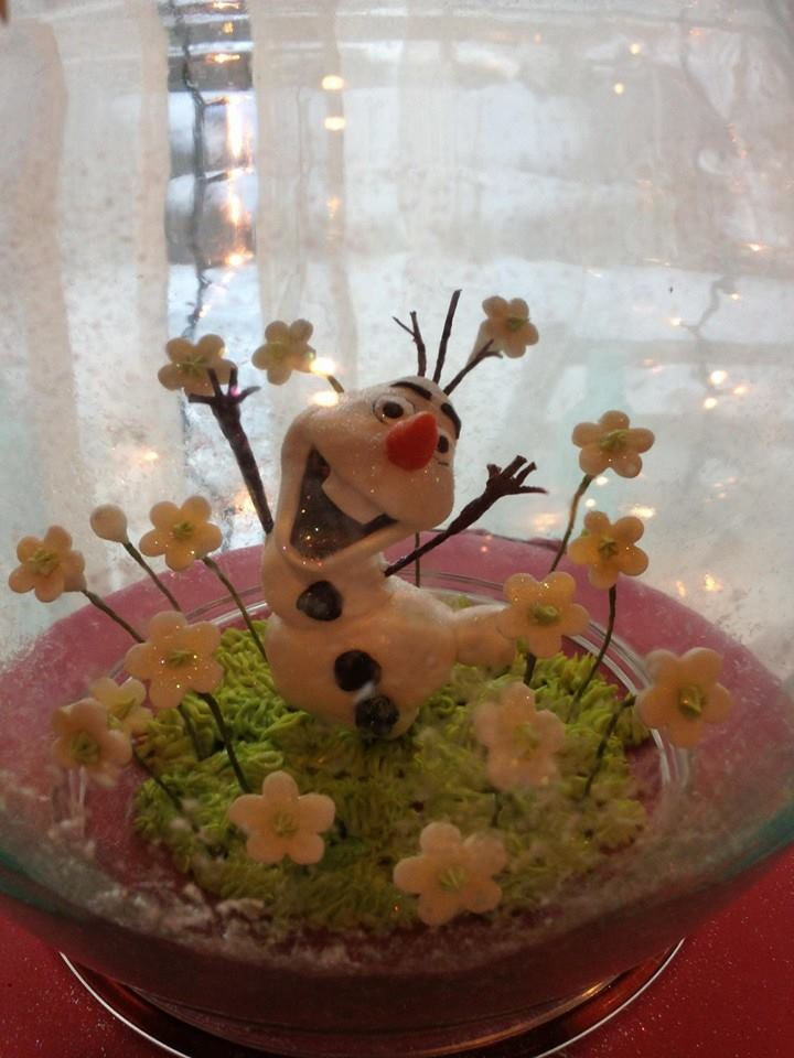 Olaf Sculpture