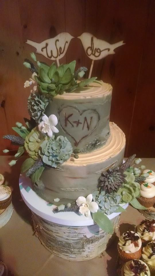 Gray Birch Cake