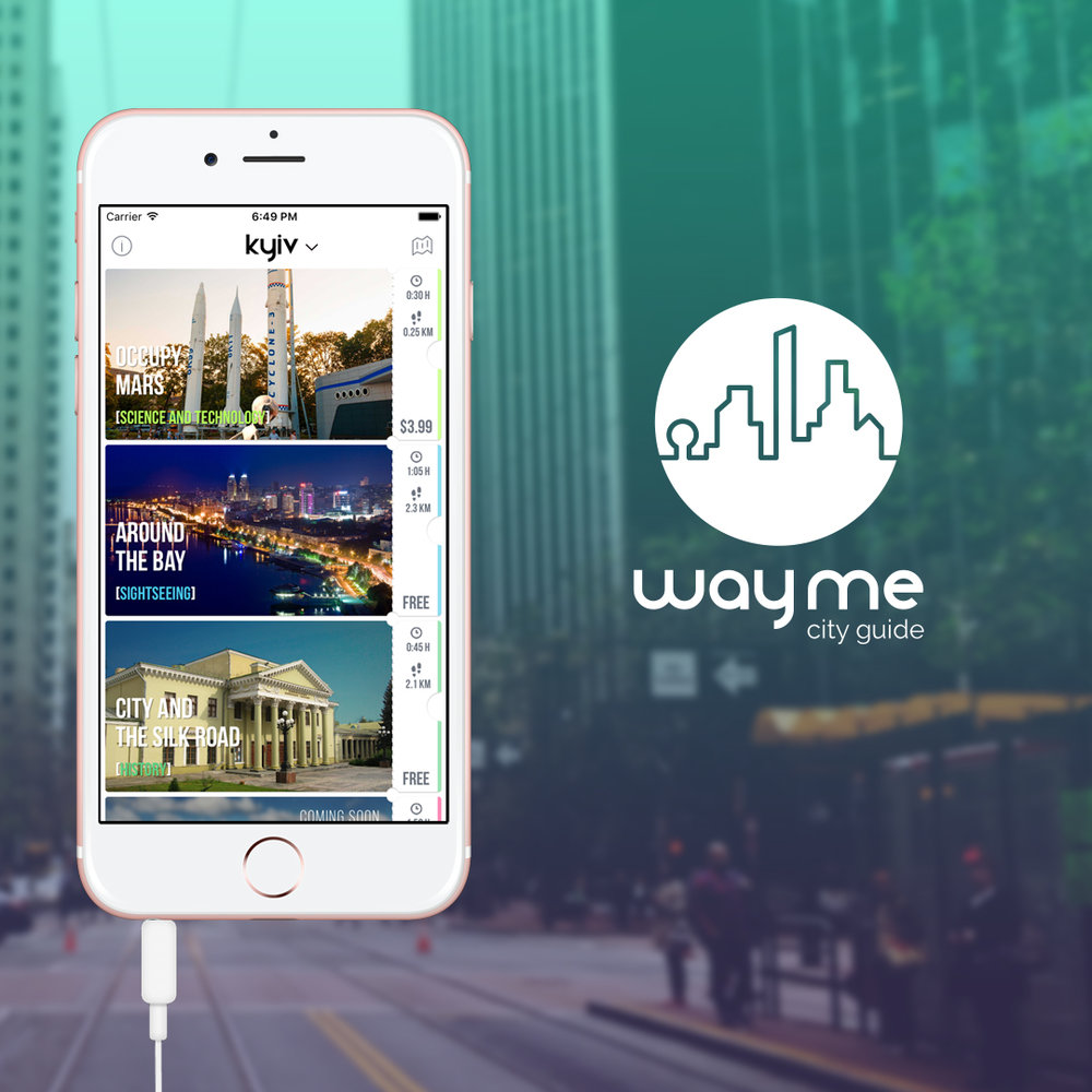 wayme - city virtual guide