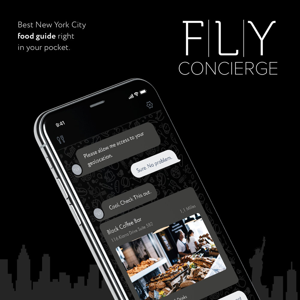 FLY Concierge (food guide)