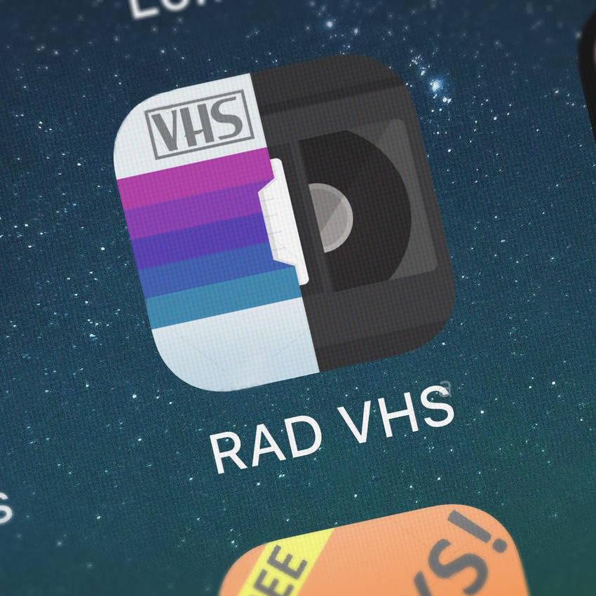 RAD VHS - Glitch Camcorder