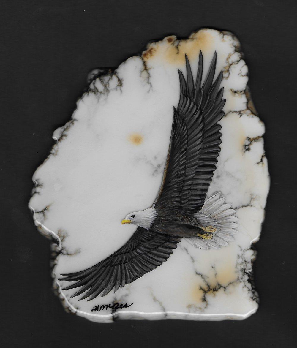 Eagle / Howlite
