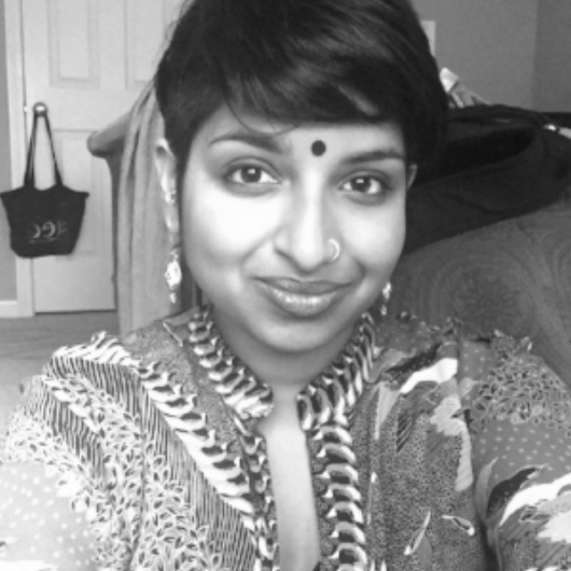I am a casted South Asian Muslim, queer woman living in Boston, MA. I immigrated to the States 25 years ago, and spent most of my life undocumented. Though I experienced the immense injustice, danger, and instability of being undocumented in a largely Islamophobic and anti-immigrant country, I still live with privilege as a casted South Asian-American. Many of my Muslim peers argue that caste doesn't affect us because our religion does not accept social hierarchy. However, those of us with South Asian ancestry are undoubtedly affected by caste privilege and benefit from a casted experience. I have to admit that most of my life, I was not aware of my caste privilege. In attempts to find out about my family's caste standing and privilege, I found that there was much done to bury the truth about our privileges, as well as ignorance and a blind-eye to the ways in which we have stepped on the backs of Dalit and Adivasi people, as well as a dismissal of our own Adivasi roots. —  Leila Zainab, Bangladeshi-Indian American, Boston, MA