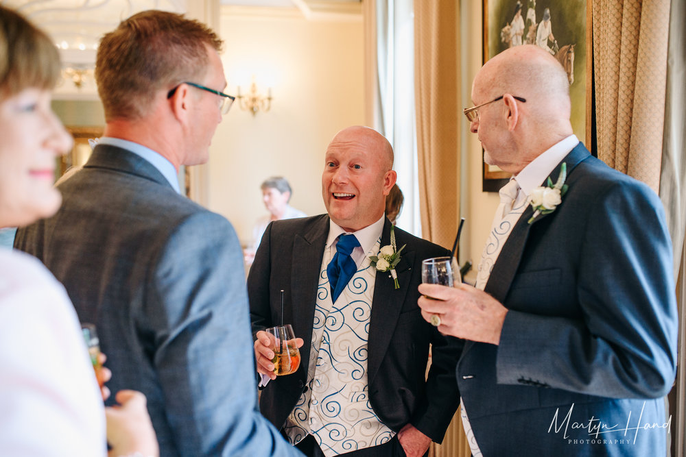 Nunsmere Hall Wedding Photographer Martyn Hand Photography