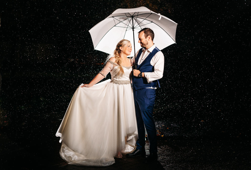 Leeds Wedding Photographer Bride and Groom Rain.jpg