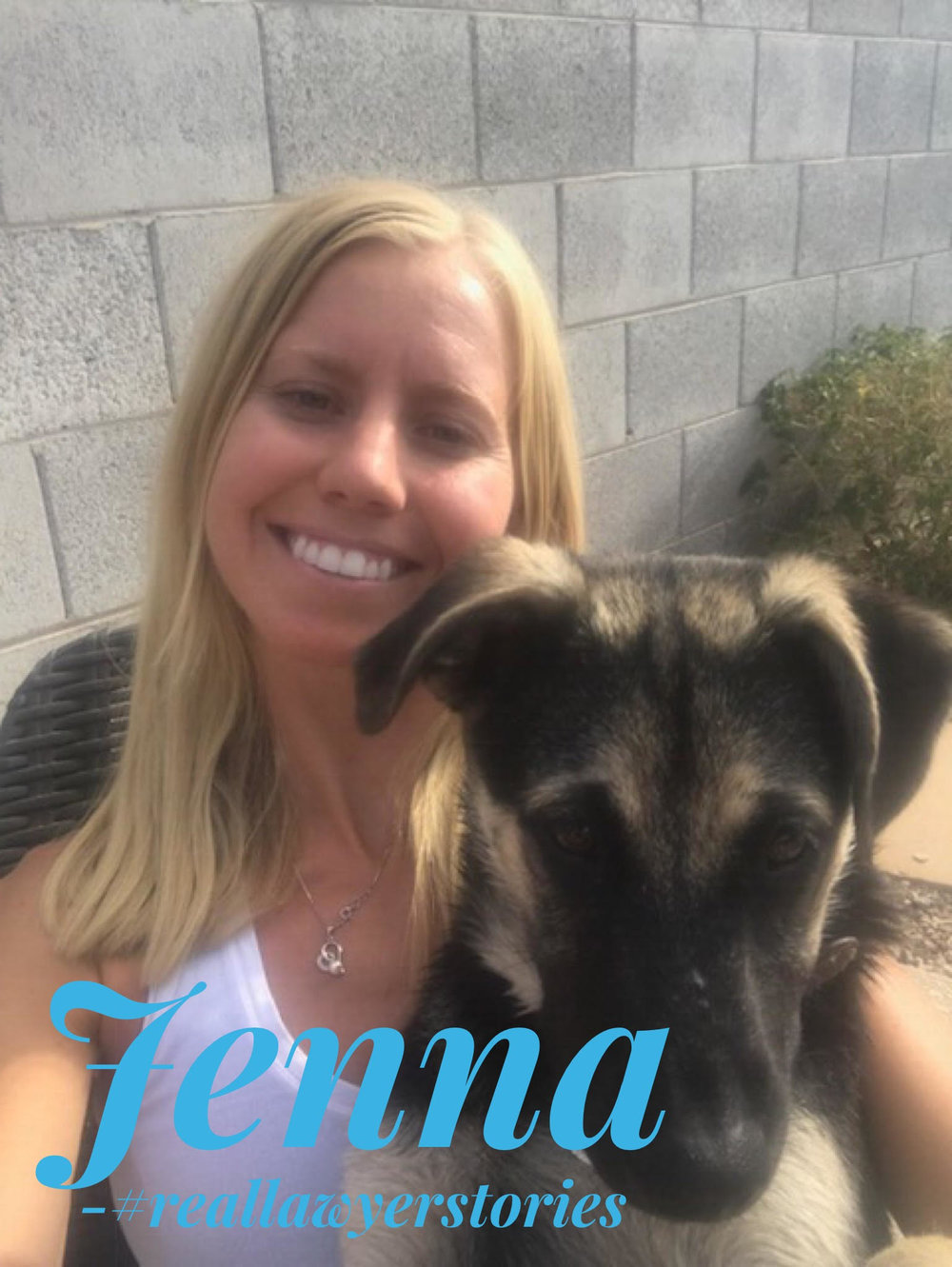 Jenna - @californiawesternschooloflaw#reallawyerstories