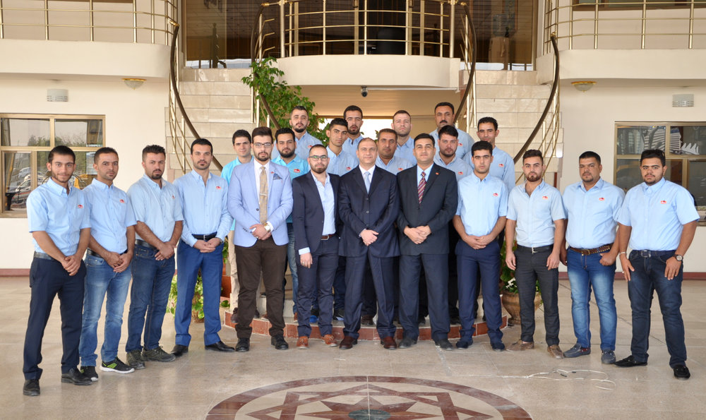 Erbil FMCG Management and Sales Staff