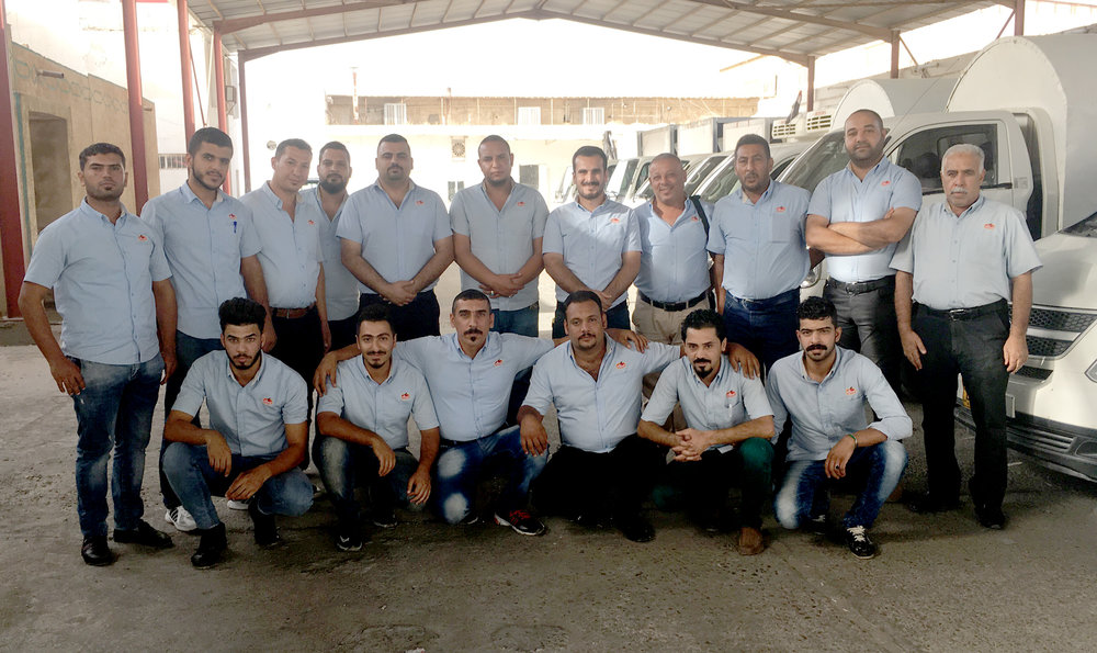 Baghdad FMCG Salesman