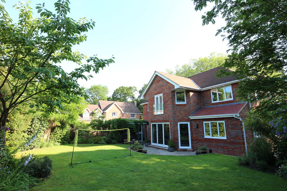 Rear Garden   Fenestration's have been arranged to work with the existing garden design.