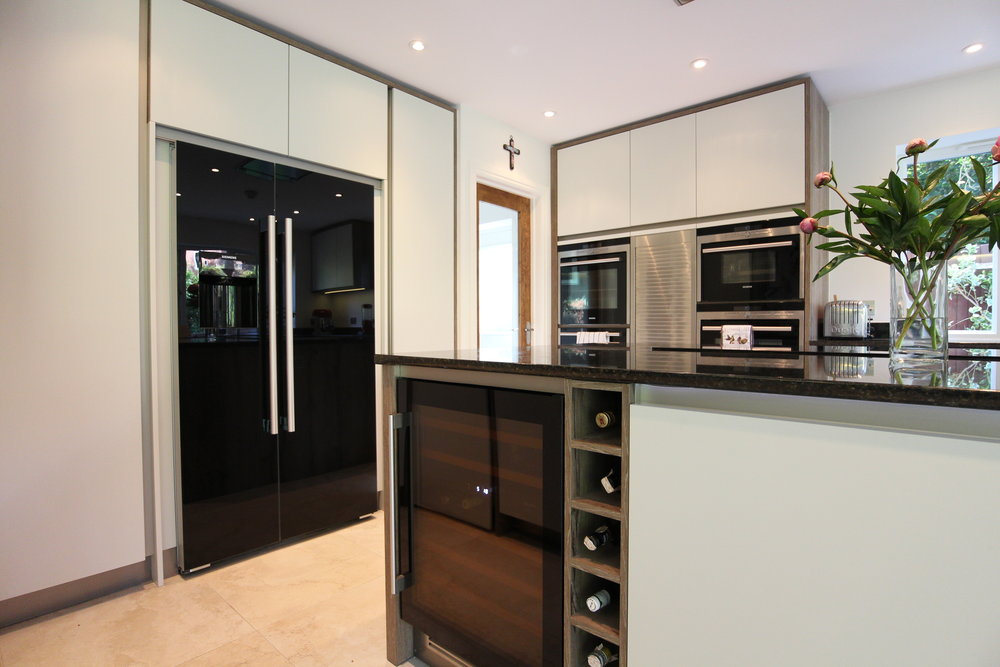 Designer Kitchen   We transformed our client's kitchen into a luxury space fit for entertaining.