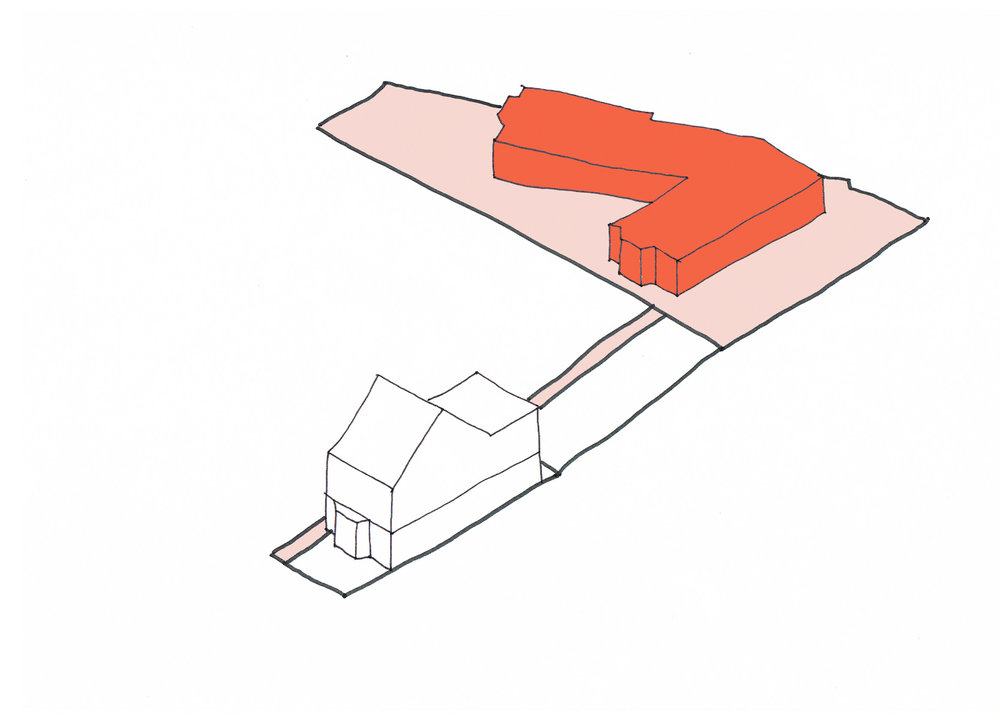 L- Shaped House Concept liked by Planners