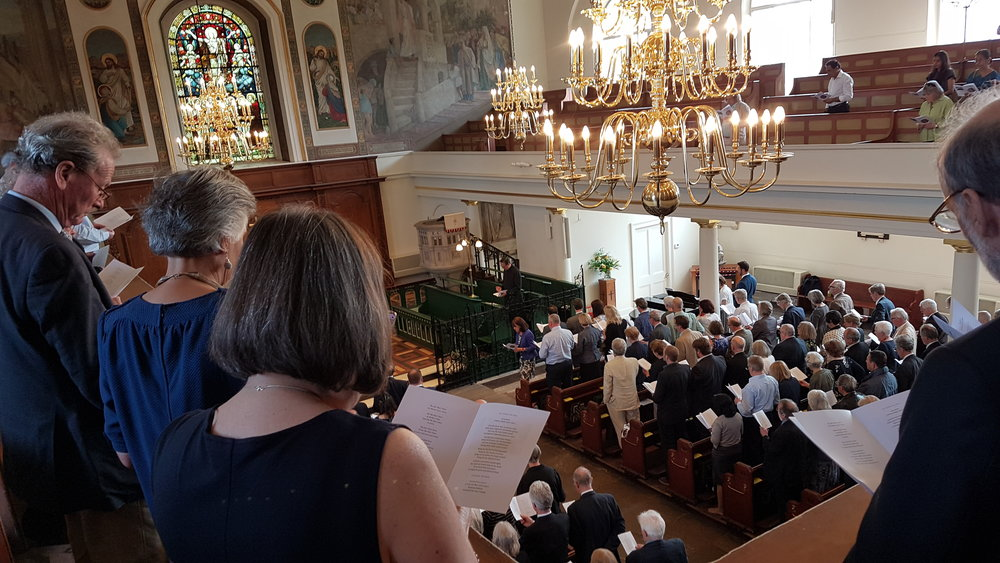 Tom Ryland Memorial Service 21st April 2018. St Peter's Church, Black Lion Lane. Hammersmith London .