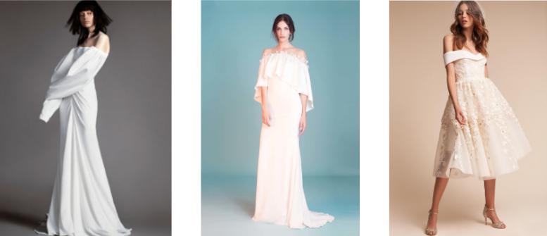 Vera Wang//BFW Spring 2018            Tadashi Shoji//BFW Spring 2018              BHLDN //Emerson Gown