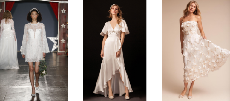 Temperley London//BFW Spring 2018               Jenny Packham//BFW Spring 2018                           BHLDN //Duchess Gown