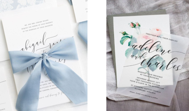 Shine Wedding Invitations                                                        Pipkin Paper Company