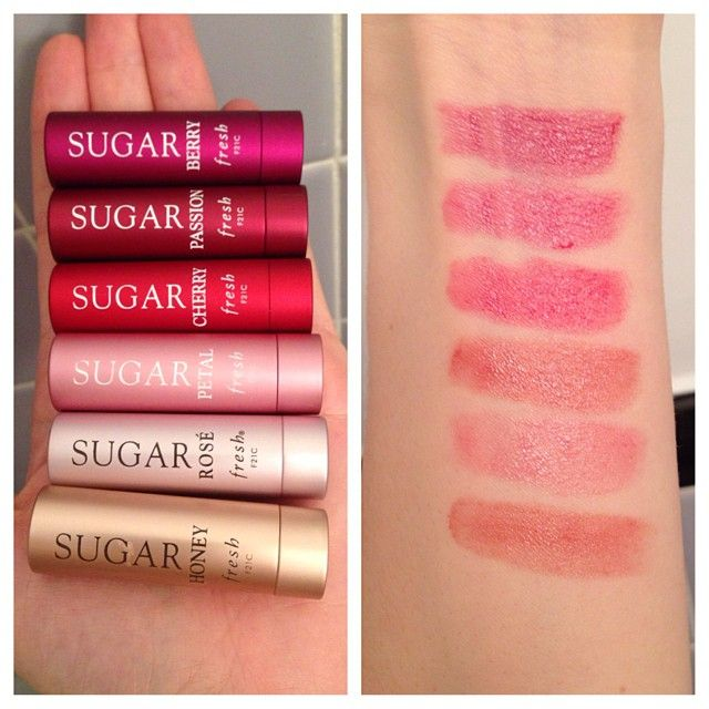 Sugar's Tinted Lip Treatments are a dream. They're super moisturizing and lightweight. They do have a clear option, but the tinted ones are perfect for a sheer wash of color if you aren't a huge lipstick fan!