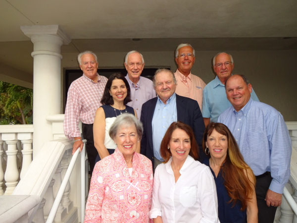 Among the Board of Directors of the Charitable Foundation of the Islands, which has sponsored $50,000 in Capacity and Collaboration Grants this year, are (top row from left) Vice-Chair Chip Roach, Chair Al Hanser, Tony Lapi and Paul Roth; (second row from left) Melissa Congress, Steve Brown and Steve Greenstein; and (bottom row from left) Grants Chair Ginny Stringer, Brenda Harrity and Mary Ellen Pfeifer. Not pictured are Treasurer Tim O'Neill, Cindy Brown, Mike Kelly, Secretary Ralph Clark, Chris Heidrick, Sanctuary Golf Club General Manager Ken Kouril, and Jim Pouliot. Photo provided by Jan Holly.
