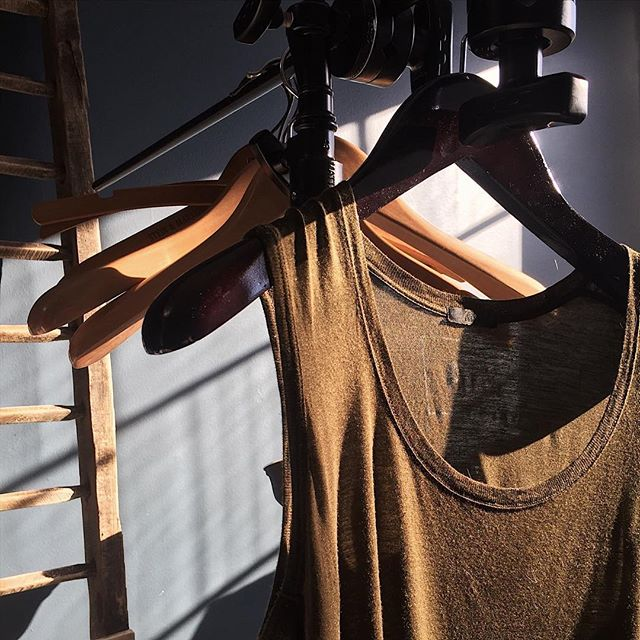 Sunny Friday in January. Got us feeling like it's tank top weather.