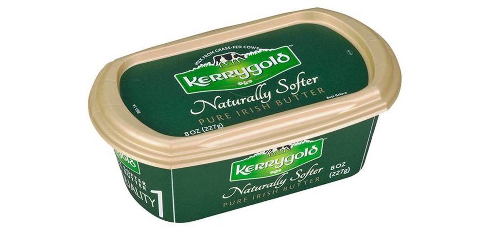 Kerrigold's Irish Butter - When it comes to being lactose intolerant, I am a posterchild. But the quality makes this butter the only butter I can have with no adverse inflammatory reactions.