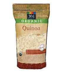365 Organic Quinoa - Another good alternative to pasta that does provide a good protein carb ratio.