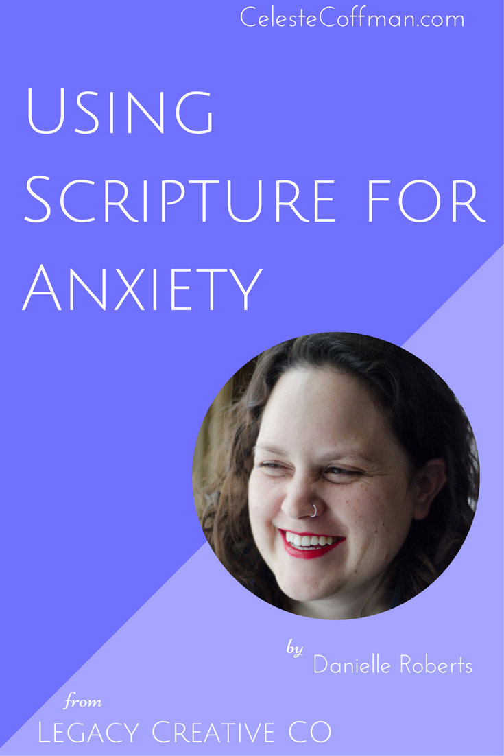 using scripture for anxiety