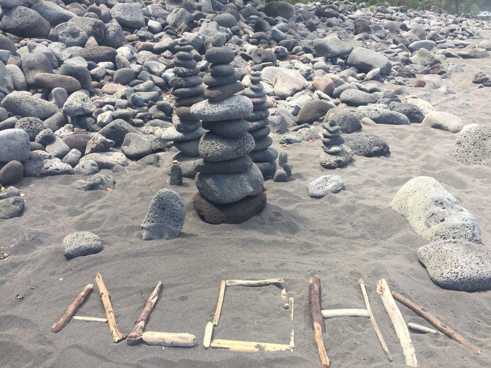 The aloha spirit writ large.