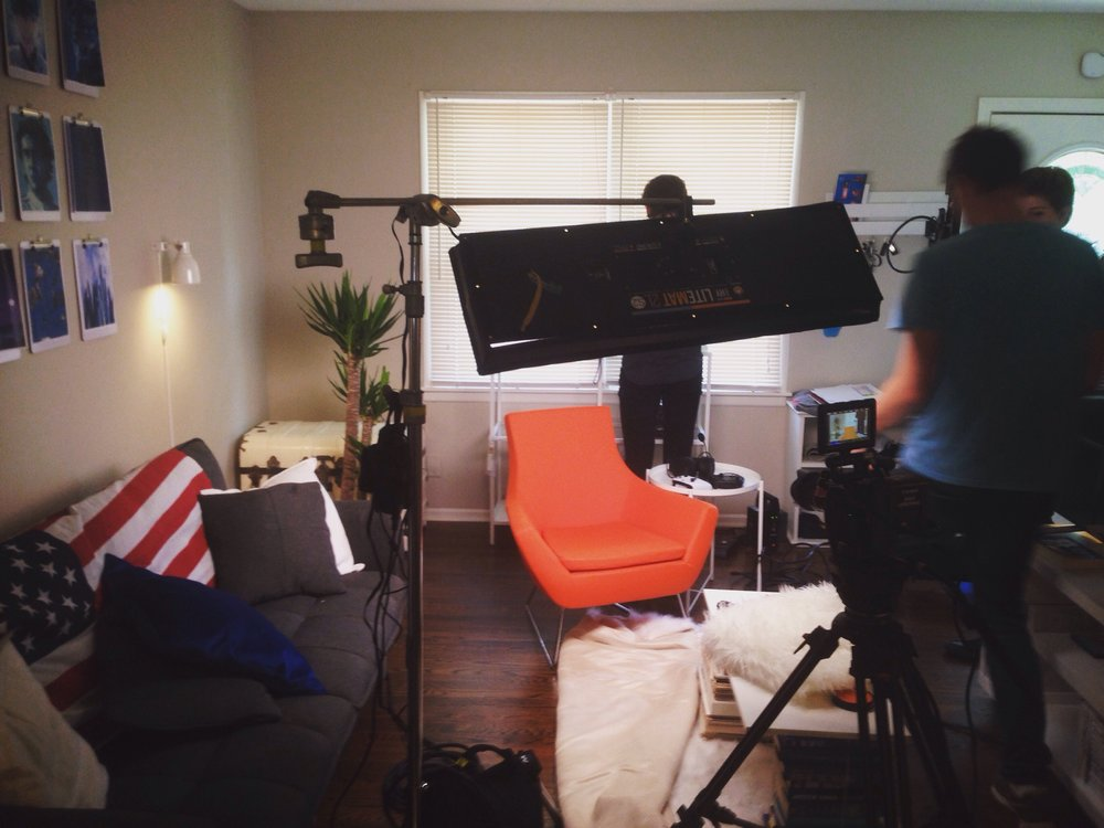 On set-shot.
