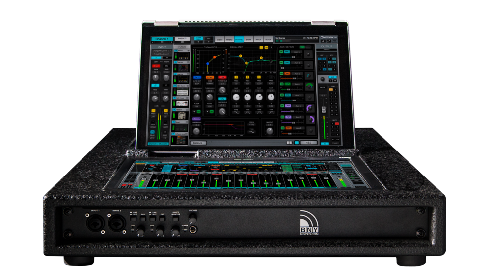 LVfly LV1 Audio Console Rack Front