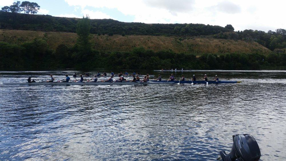 The long row at Epworth Camp